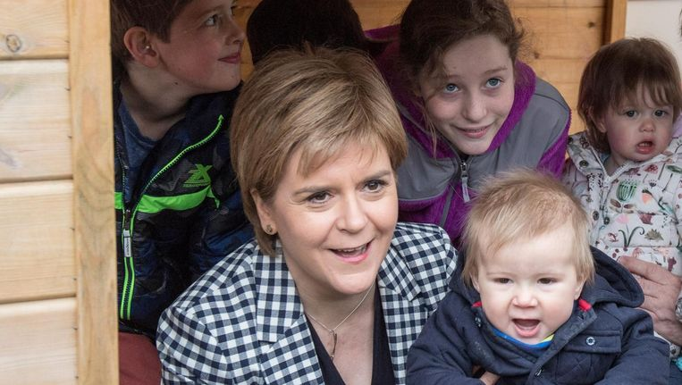 Nicola Sturgeon, Schotland Beeld afp