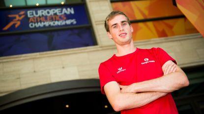 Simon Debognies loopt finale op 10.000 meter
