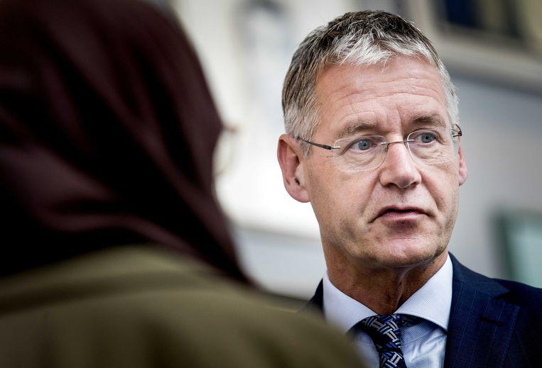 Minister Arie Slob van Onderwijs.  Beeld ANP - Koen van Weel.