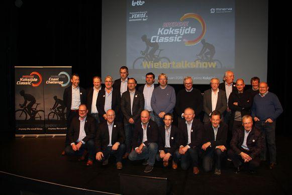 De voorstelling van Bredene Koksijde Classic vond plaats in het CasinoKoksijde. Sportjournalist Karl Vannieuwkerke verzorgde de wielertalkshow met Michel Pollentier, José De Cauwer en Wim Vansevenant