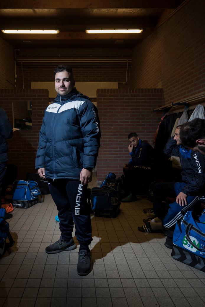 Ede/Victoria-trainer Erdinc Kadioglu. Archieffoto.