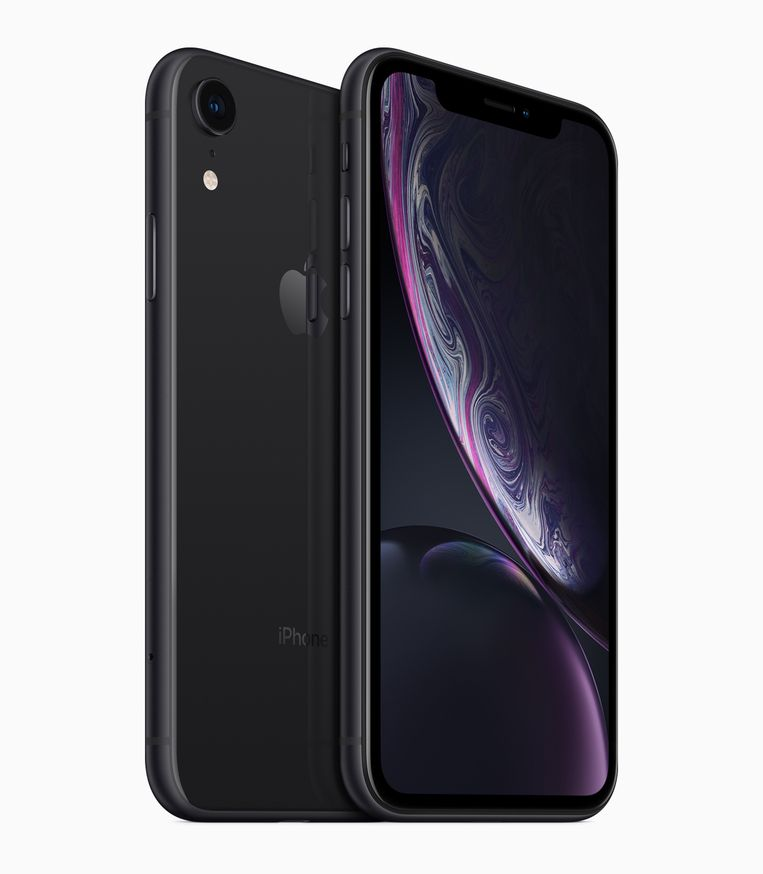 De iPhone XR.