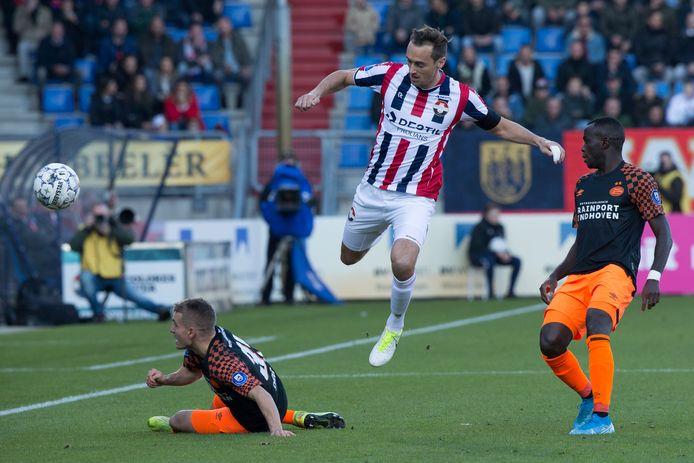 PSV verloor zondag in Tilburg van Willem II.