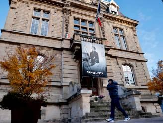 Vier scholieren opgepakt in onderzoek naar moord op Franse leraar