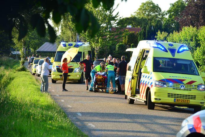 Fietser gewond  in Helenaveen.