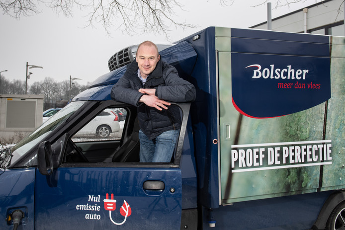 Roy Bolscher, mede-eigenaar van Bolscher Vlees.