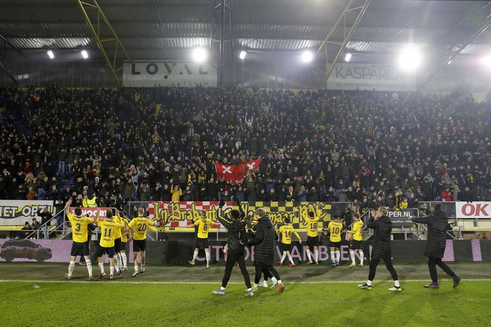 2020-01-23 22:39:49 squad of NAC Breda during the Dutch Toto KNVB Cup round of 16 match between NAC Breda and PSV Eindhoven at Rat Verlegh stadium on January 23, 2020 in Breda, The Netherlands ANP SPORT