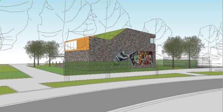 Bij het ontwerp van het jeugdhuis wordt erop gelet dat de buurt zoveel mogelijk overlast bespaard blijft.