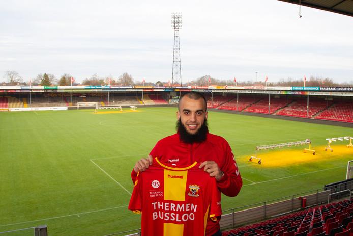 Soufyan Ahannach, nieuw in de Adelaarshorst.