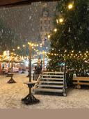 Bij de opening van Den Bosch Winterland.