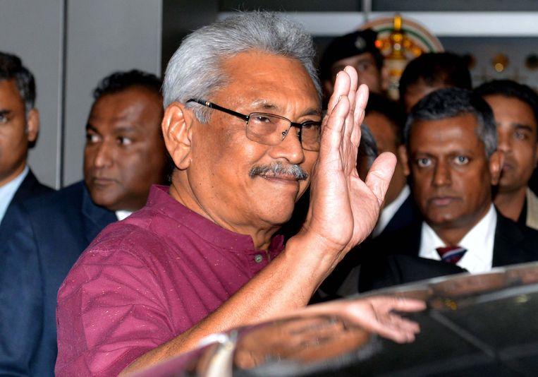 Gotabaya Rajapaksa.  Beeld EPA
