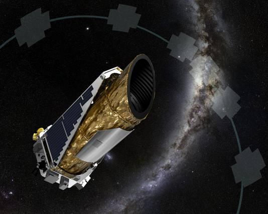 Impressie van de Kepler-telescoop.