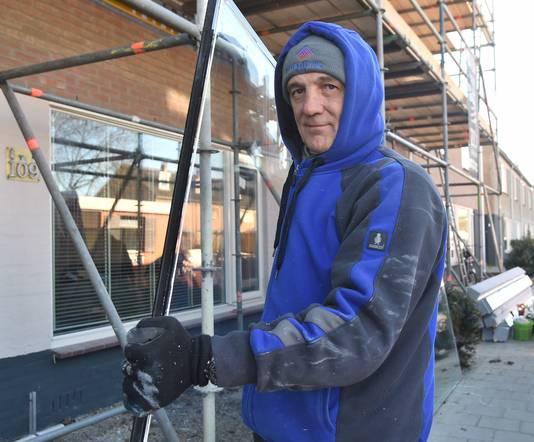 """Jeroen Stroo: ,,Stoppen is geen optie: die ramen moeten gewoon dicht."""""""