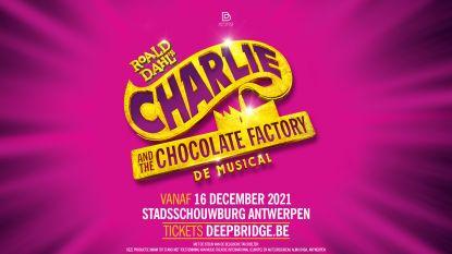 Roald Dahl's klassieker 'Charlie and the Chocolate Factory' volgend jaar als musical in Stadsschouwburg