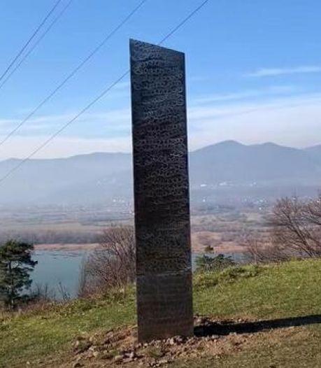 Na Utah ook mysterieuze monoliet in Roemenië: 'Gemaakt door slechte lasser'