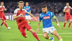 LIVE. Mertens begint op de bank: laat Arsenal kwalificatie nog uit handen glippen in Napels?