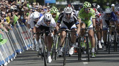 Cavendish opent Ronde van Californië met zege