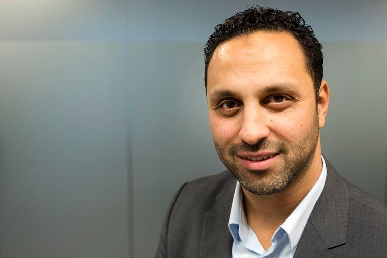 Advocaat Khalid Kasem ontkent de beschuldiging. Beeld ANP