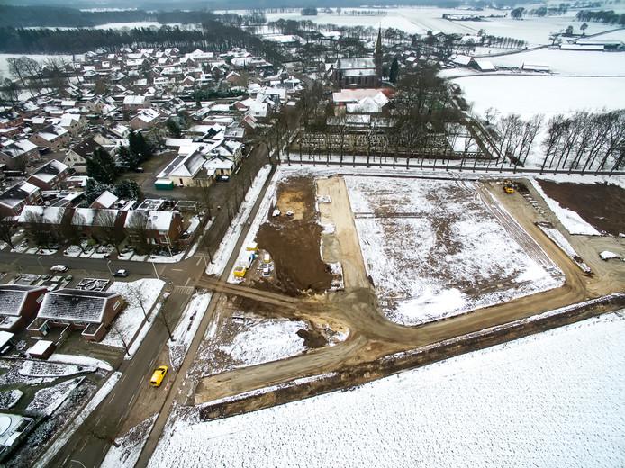 In Lettele zijn ze al begonnen met nieuwbouw