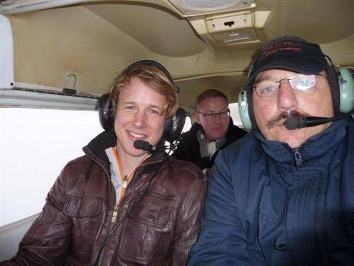 Hans van der Linden gaf turner Epke Zonderland in 2013 zijn eerste vliegles. Op 15 juni wordt de verongelukte piloot herdacht op zijn eigen bedrijf in Arnemuiden.