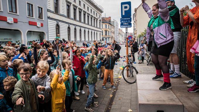 Scholen maken straten verkeersvrij