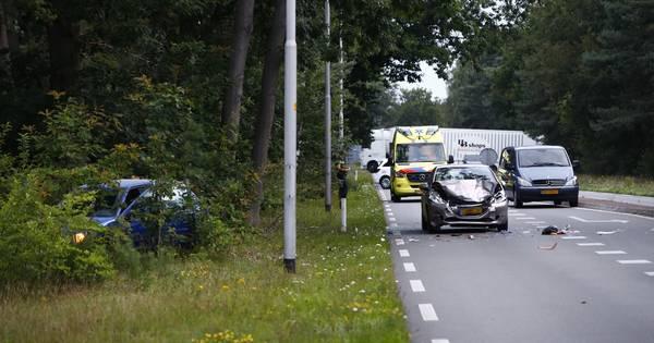 N309 tussen t Harde en Epe in beide richtingen dicht na ernstig ongeluk.