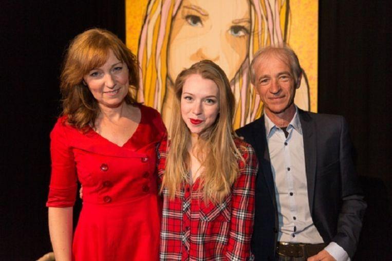 Sanne, Maartje en Erik.