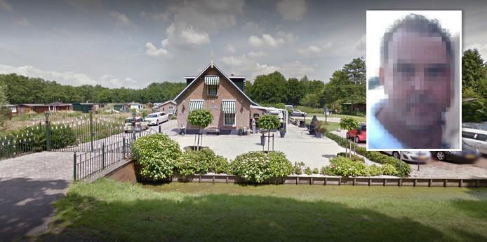 De bewuste woning aan de Gageldijk in Utrecht. Inzet: Jacques V.