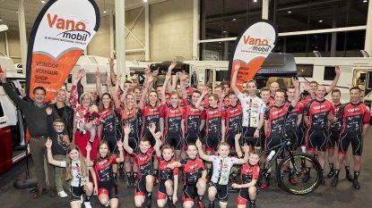 Mountainbiketeam Vanomobil blijft groeien: nu al 39 renners