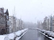 Precies één jaar geleden: hevige sneeuwval in Gouda
