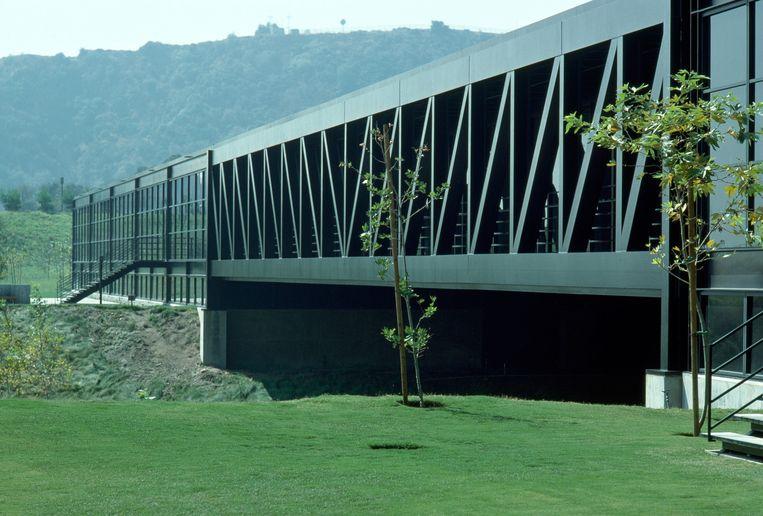 Gebouw: Art Center Bridge. 'Dat ik dit gebouw noem, is deels nostalgie.' Beeld Kidder Smith / Massachusetts Institute of Technology, photograph