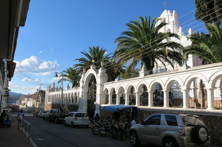 Sucre, de officiële hoofdstad van Bolivia. Beeld Ynske Boersma