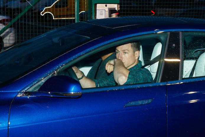 Elon Musk, de topman van Tesla, ging eerder deze maand zelf achter het stuur in België, waar hij de aankomst van de eerste Tesla's Model 3 wilde bijwonen.