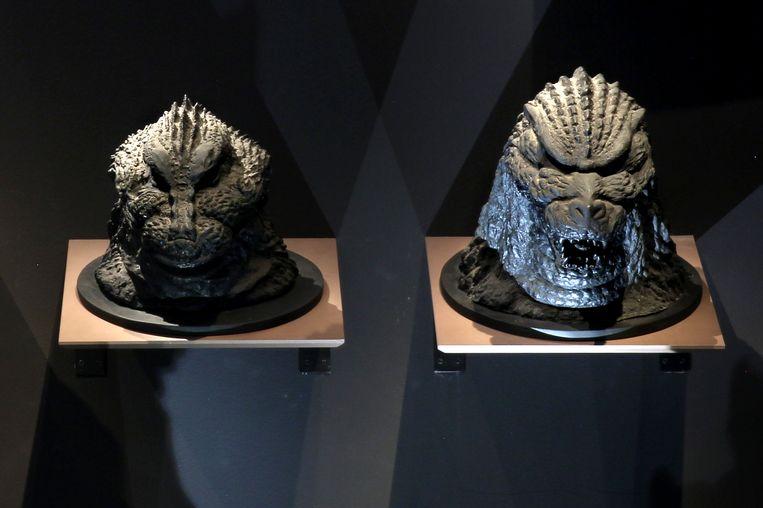 Artefacten in de sciencefiction-tentoonstelling. Beeld Sanne Donders