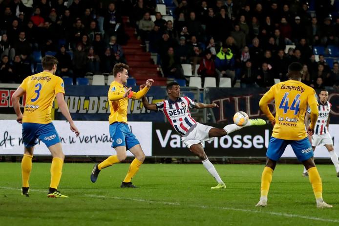 De Graafschap verloor met 3-2 bij Willem II.