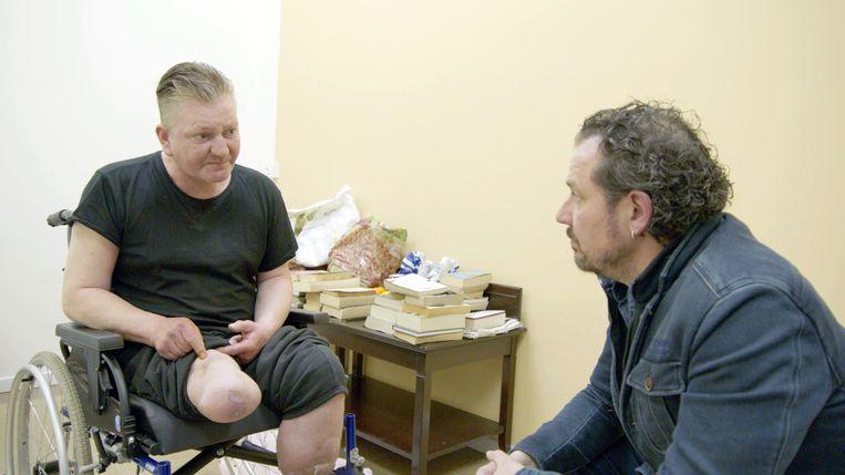 Axel Daeselaire en Graeme tijdens het programma Project Axel.