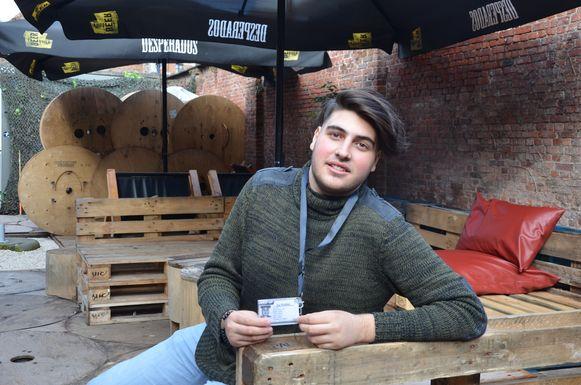 Furkan Sahin, alias dj Furki, neemt eind deze maand een videoclip op in Vagevuur.