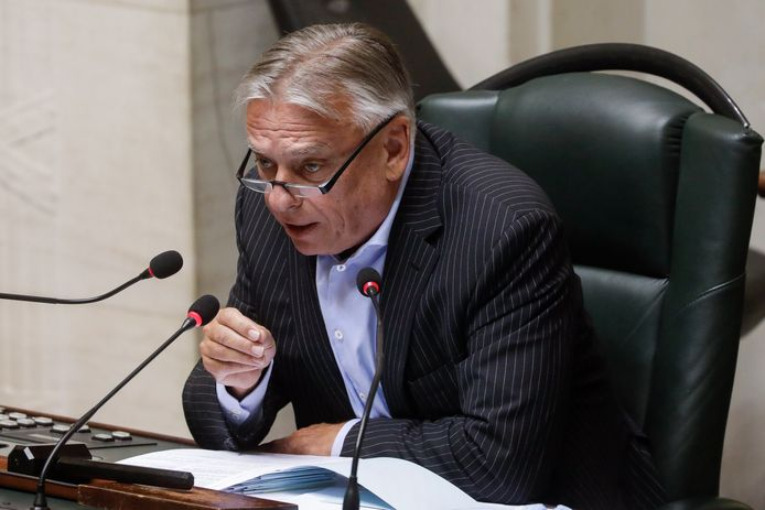 Patrick Dewael, président de la Chambre.