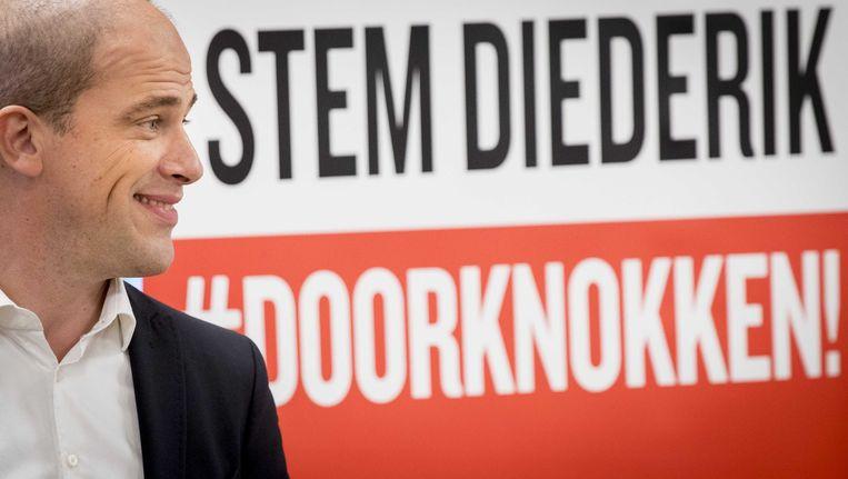 Diederik Samsom was de afgelopen vier jaar partijleider van de PvdA. Beeld ANP