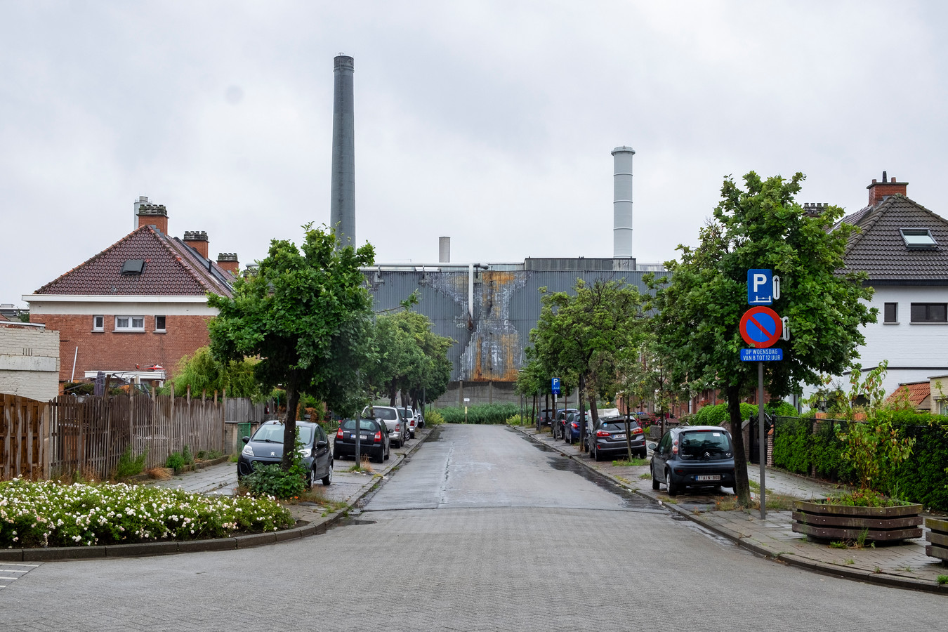 De Umicore-fabriek in Hoboken.