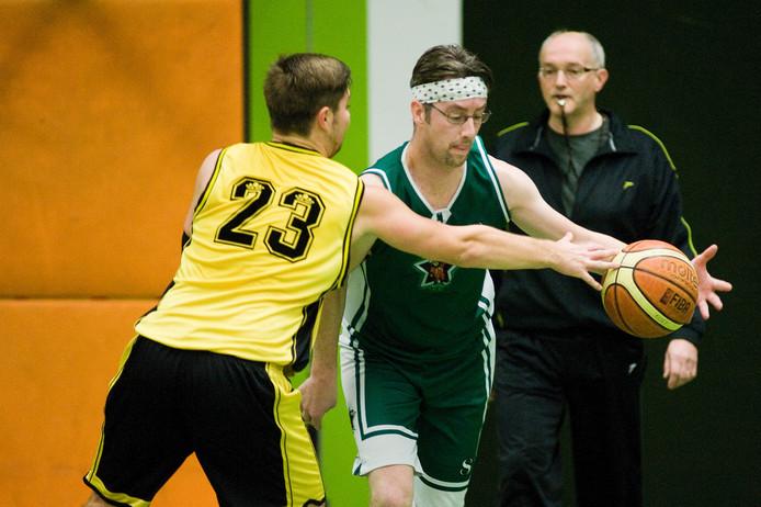 De basketballers van Flip stars wonnen nipt. Archieffoto