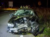 Automobilist gewond nadat hij van de weg slipt in Tilburg