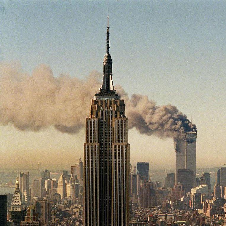 Beeld uit de documentaire 102 Minutes That Changed America. Beeld