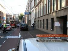 Fietser zwaargewond bij botsing met tram in Parkstraat