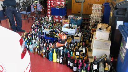 2.000 bierblikjes en 900 flessen drank in beslag genomen