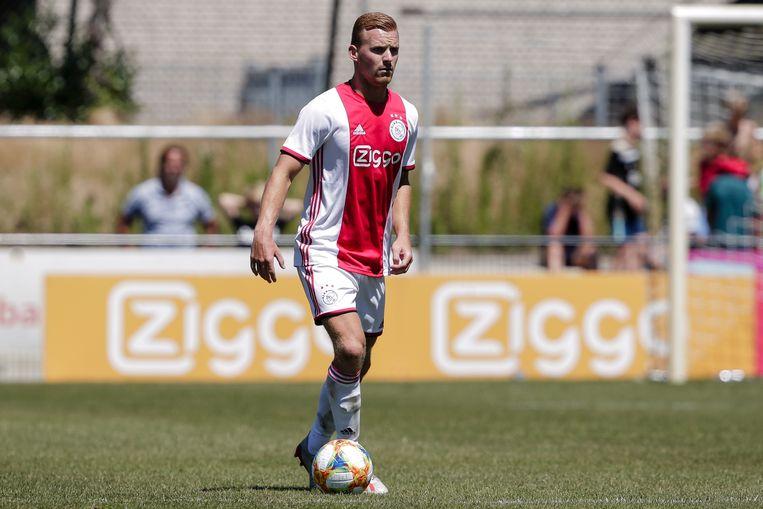 Dani de Wit tijdens het vorige oefenduel tegen Aalborg. Beeld BSR Agency