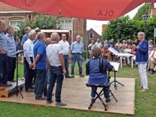 Zeemansliedje galmt door Truzement tijdens Zomerfestival