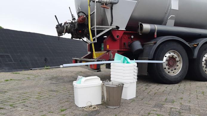 Inval bij veevoederbedrijf in omgeving Tilburg.