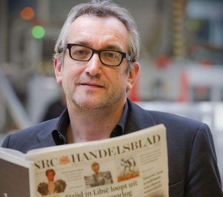 Peter Vandermeersch, hoofdredacteur van NRC Handelsblad. Beeld ANP