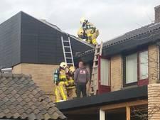 Brandje op dak van woning in Lievelde